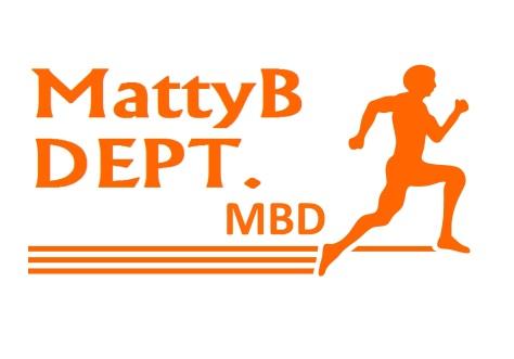 MattyB DEPT MBD orange font