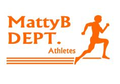 MattyB DEPT Athletes orange font