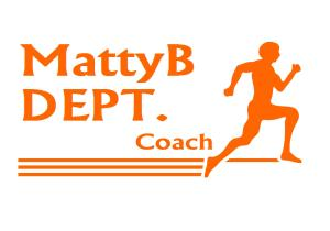 MattyB DEPT Coach orange font