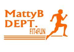 MattyB DEPT FIT4FUN orange font