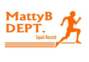MattyB DEPT Squad Records orange font