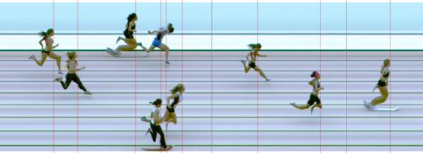 chloe photo finish 200m Hurdles final 27.54 -0.9w NSW All Schools 09
