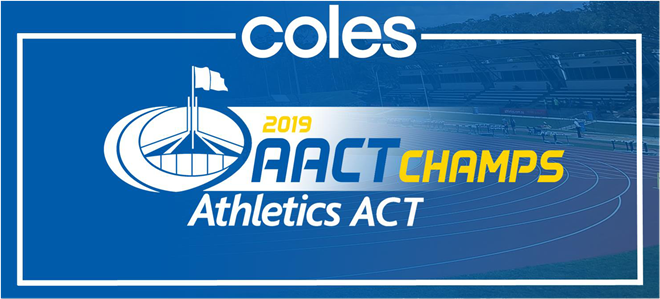 2019 Coles ACT Champs squad results